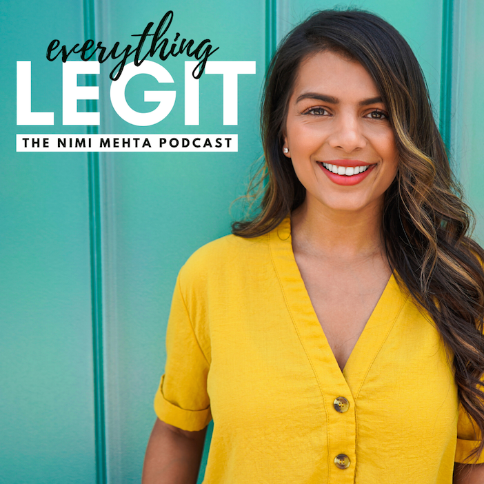 Everything Legit - The Nimi Mehta Podcast - iTunes Spotify Channel 4 Dubai Medium
